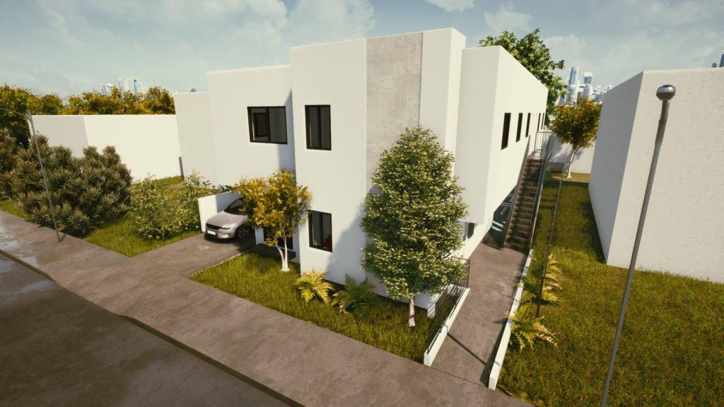 Triplex Workforce housing project in Miami