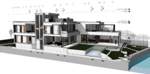 BIM section of a Residential Project
