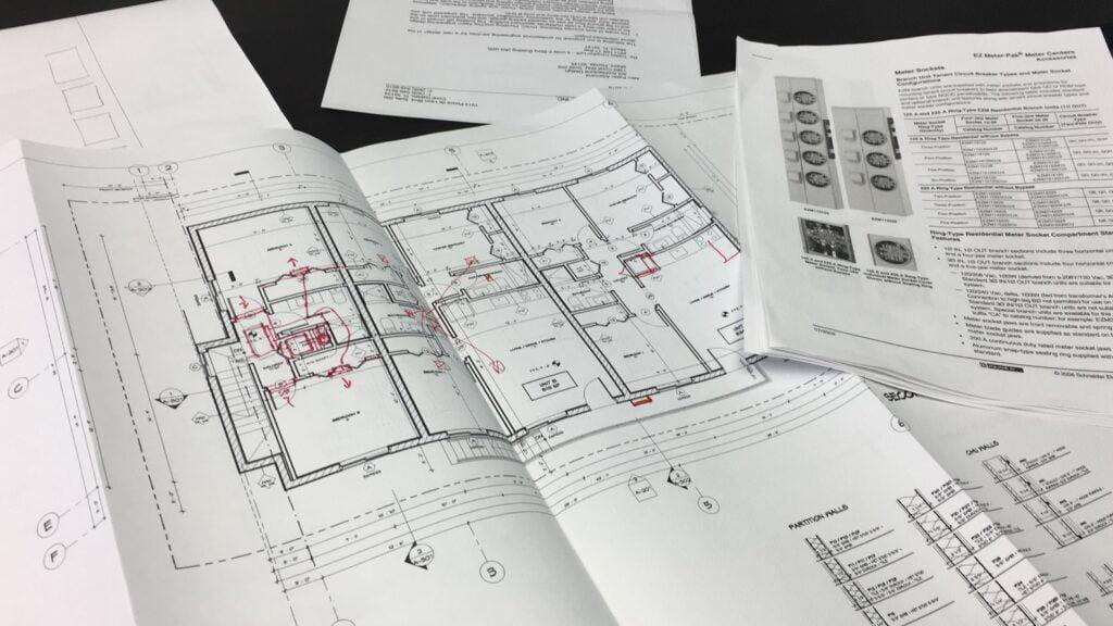 Blueprints hard cost vs soft cost example